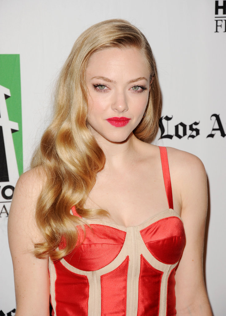 Amanda Seyfried attended the Hollywood Film Awards gala in Los Angeles.