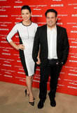 Julianna Margulies posed with pal Narciso Rodriguez.