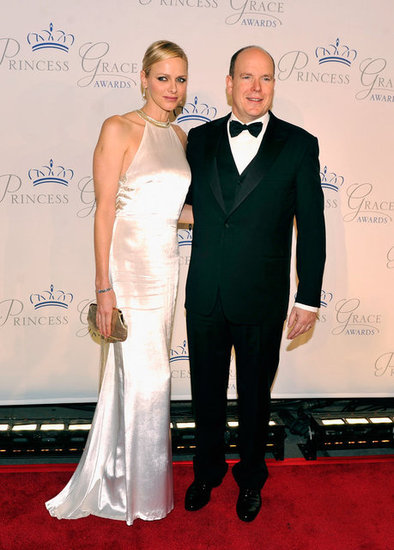 Princess Charlene and Prince Albert Party in the USA