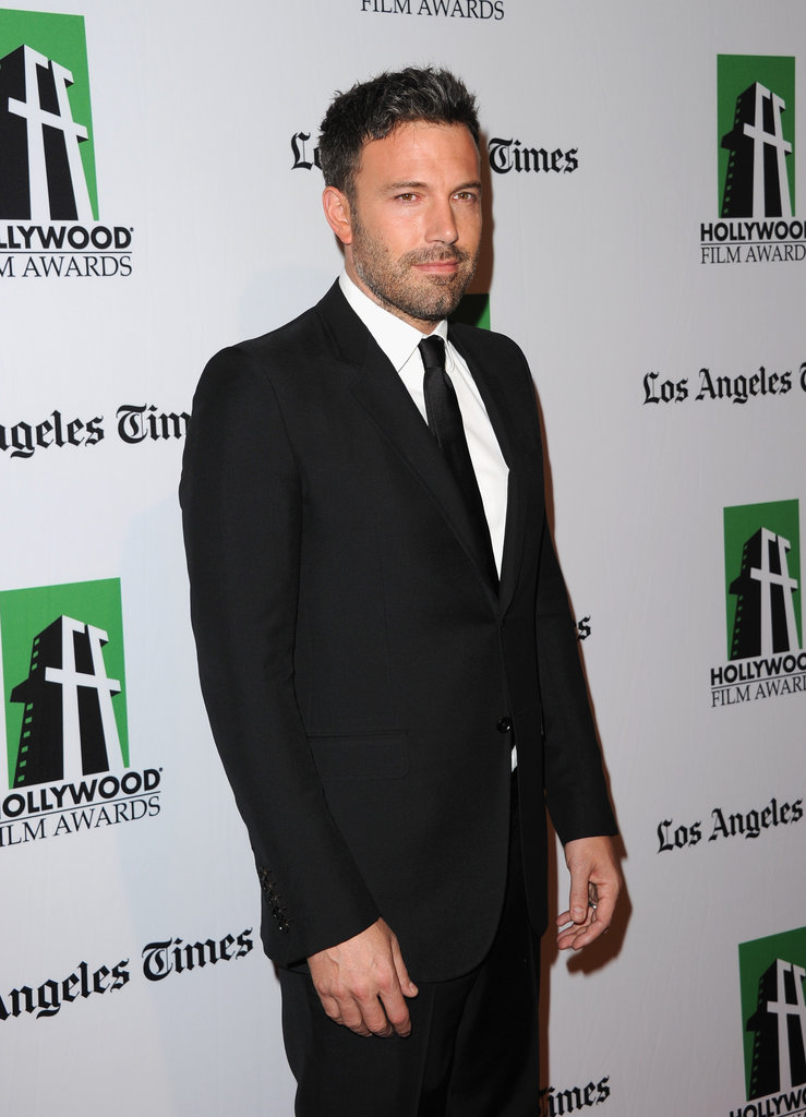 Ben Affleck attended the Hollywood Film Awards gala in Los Angeles.