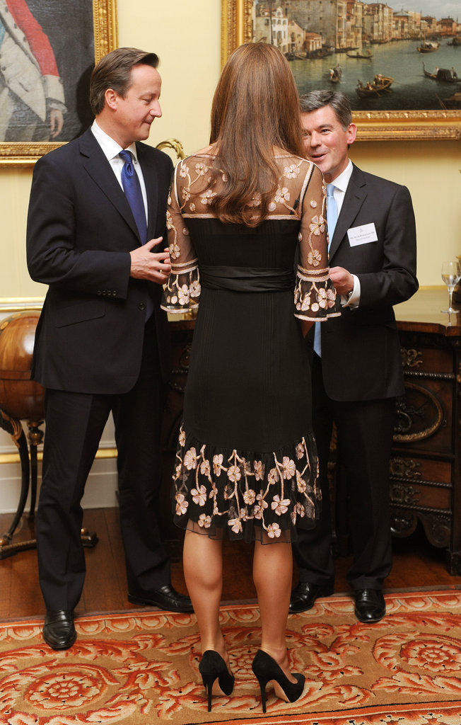 Kate Middleton met with Team GB Olympic athletes.