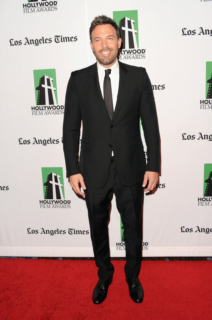 Ben Affleck, Marion Cotillard, and More Stars Light Up the Hollywood Film Awards Red Carpet