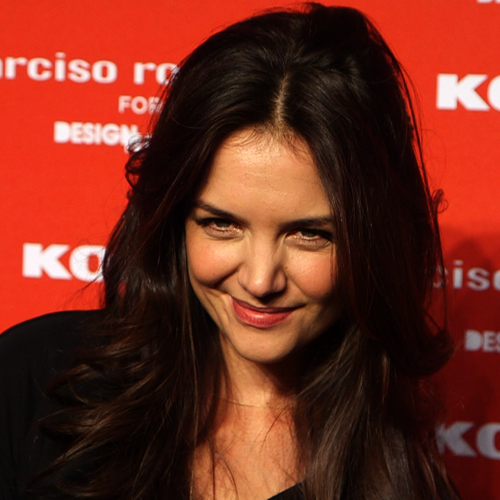 Katie Holmes at the Narciso Rodriguez Kohl's Launch (Video)