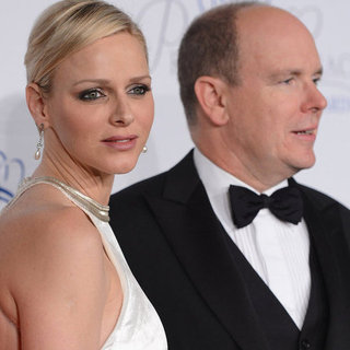 Princess Charlene and Prince Albert at Princess Grace Gala