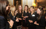 Kate Middleton chatted with some ladies in London.
