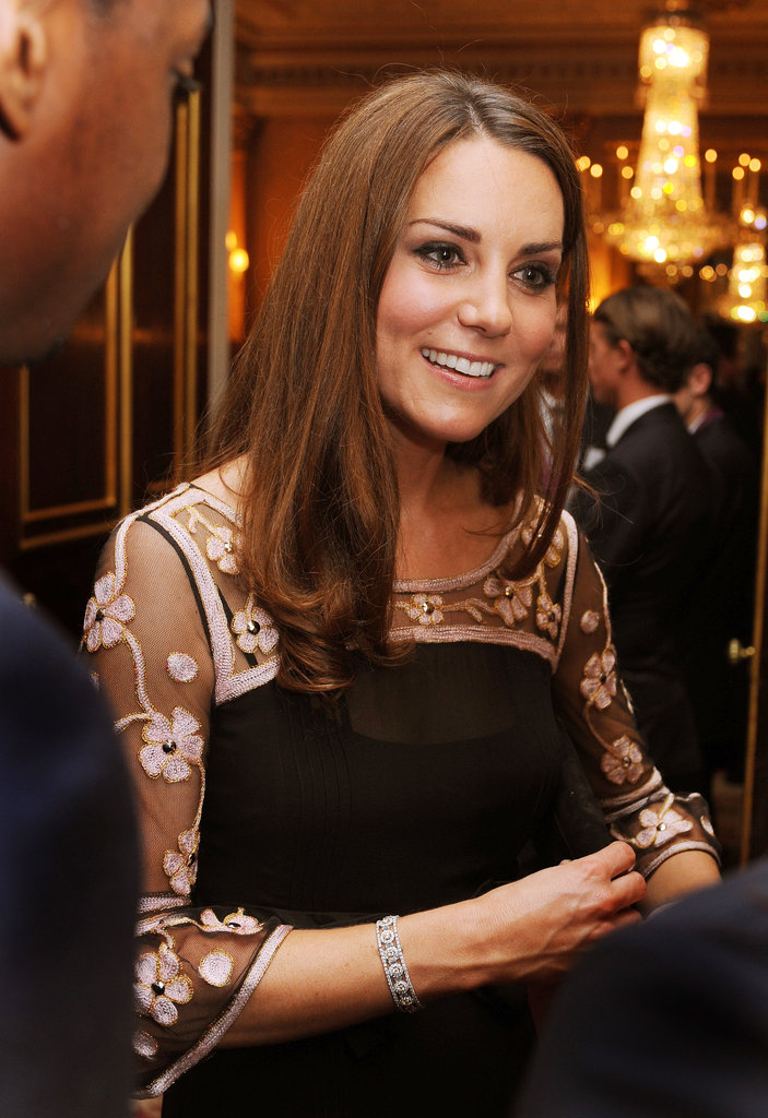 Kate Middleton attended a reception for members of Team GB and Olympic medalists in London.