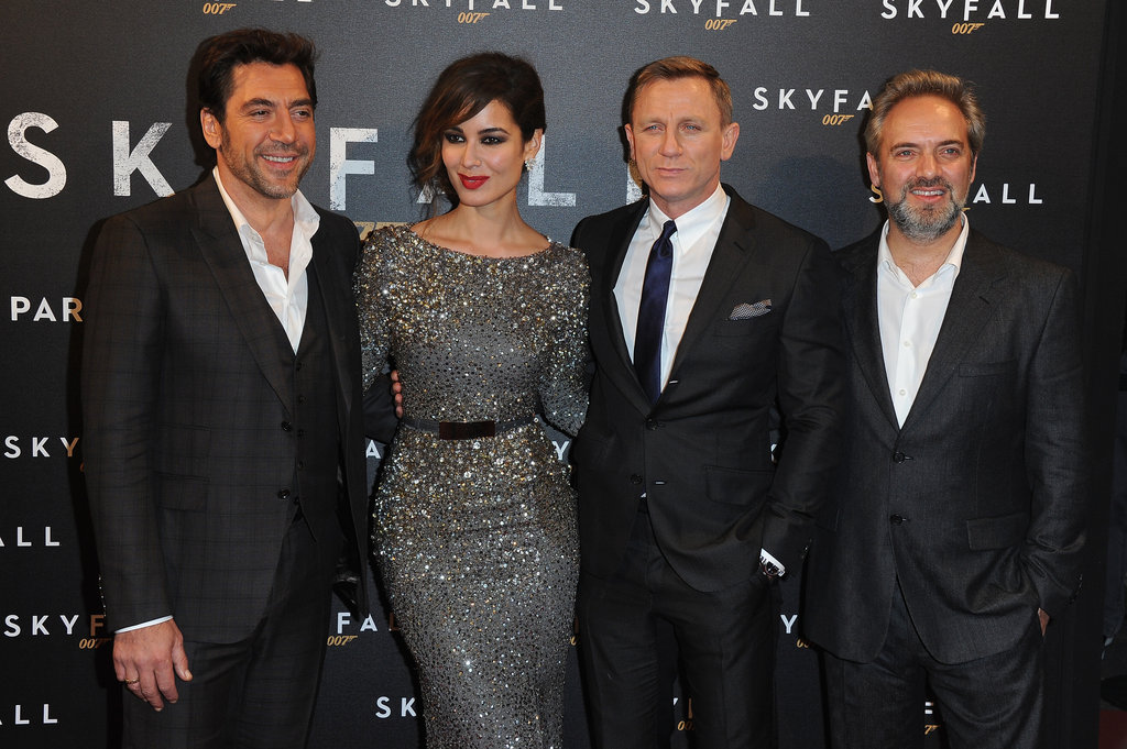 The cast of Skyfall hit the red carpet for the film's Paris premiere.