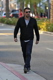Ben Affleck shopped Rodeo Drive.