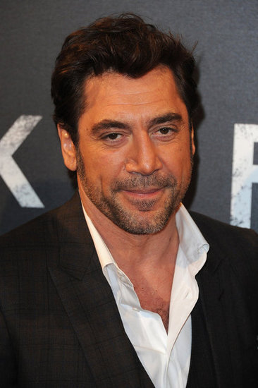 Javier Bardem attended the Skyfall premiere in Paris.