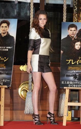 Kristen Stewart was in Japan.