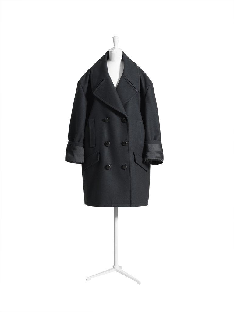 Oversize peacoat ($349)