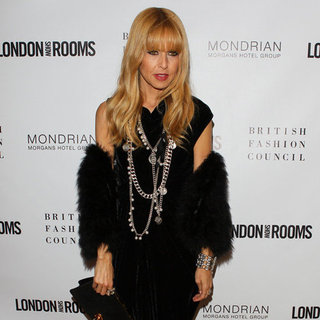 Rachel Zoe Wearing Silver Coin Necklace