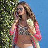 Alessandra Ambrosio Bares Her Midriff For a Shoot | Pictures