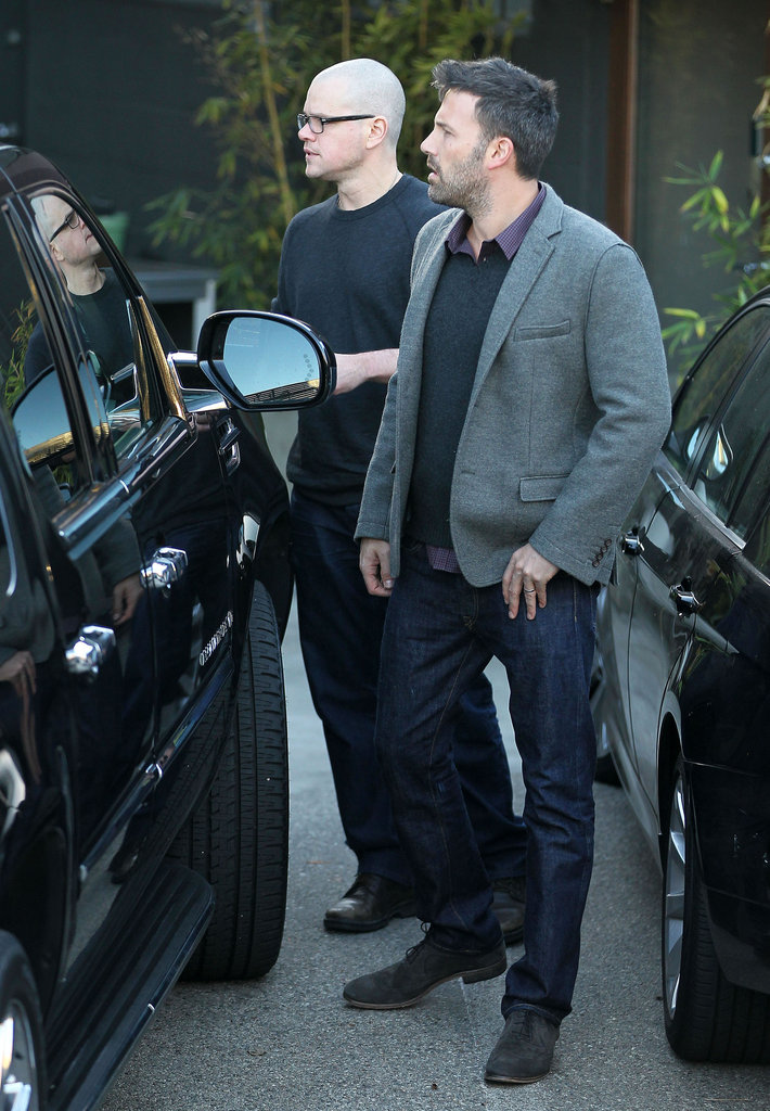 Matt Damon and Ben Affleck were in LA.
