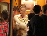Nicole Kidman wore an elegant wardrobe on set.