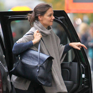 Katie Holmes Shopping at Whole Foods in NYC