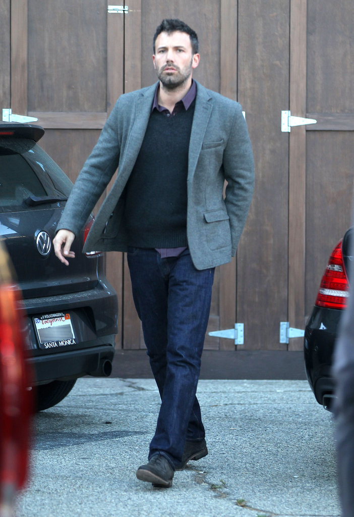 Ben Affleck spent time with Matt Damon in LA.