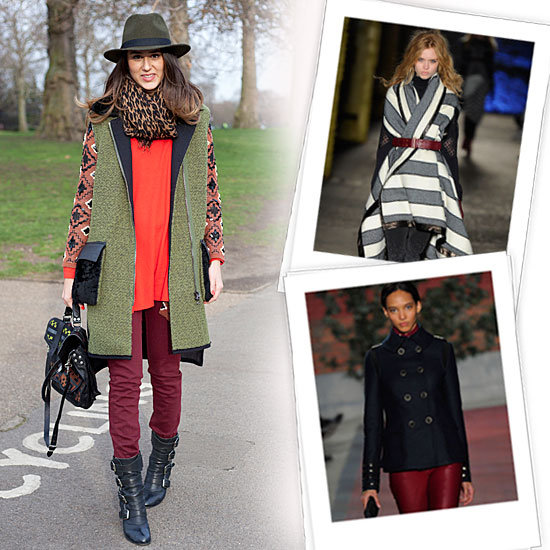 Best Fall Coats 2012