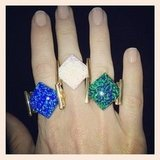 Which one? Ali got acquainted with some beautiful Lotus Mendes opal rings. Available December!
