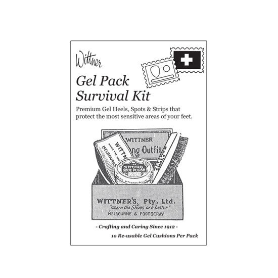 Wittner Gel Pack Survival Kit, $16.95
