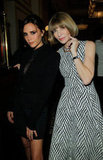 Victoria Beckham and Anna Wintour