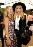 Jennifer Meyer posed alongside a boho-clad Rachel Zoe.