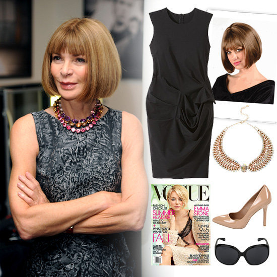 If you're still on the hunt for a Halloween costume and need something quick and effortless, why not go as legendary Vogue editrix Anna Wintour? For a truly Wintour-inspired Halloween look, you'll need only a few basics (all of which we're sure you can wear again).
