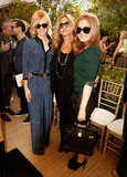 January Jones, Jennifer Aniston, and Isla Fisher made a style trio.