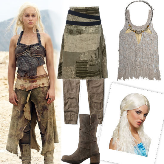 Barbarian fights, love, betrayal, dragons — Game of Thrones is clearly having a moment, and we can't seem to get enough. Take your obsession to the next level with our Daenerys Targaryen Halloween outfit.