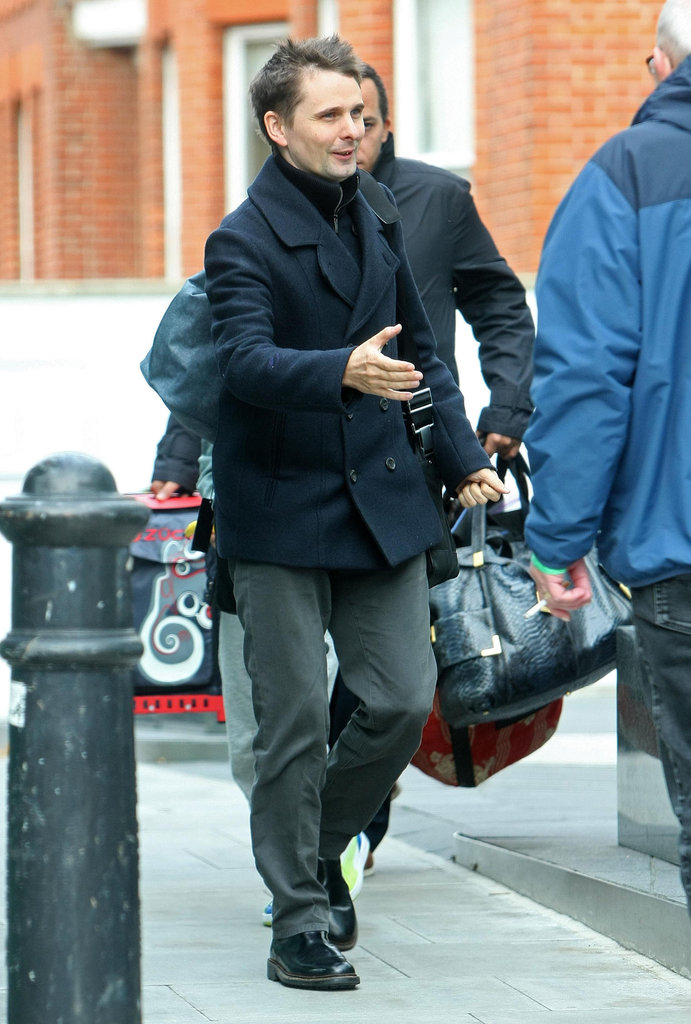 Matthew Bellamy was in London.