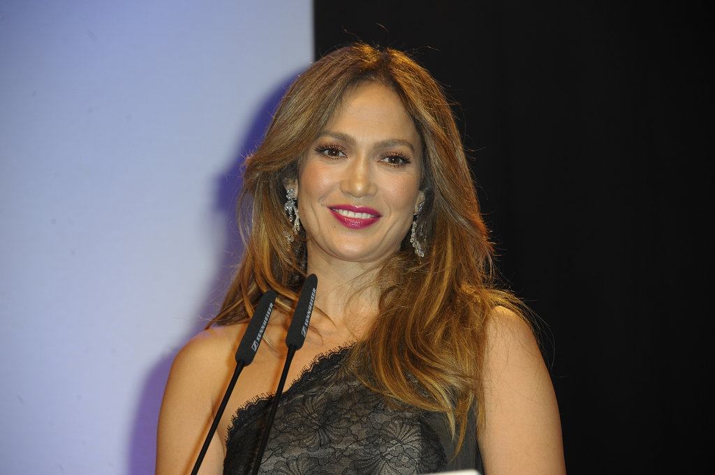Jennifer Lopez spoke at the UNESCO Charity Gala in Germany.