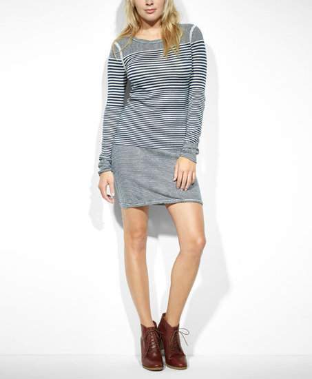 Levi's® Striped Sweater Dress
