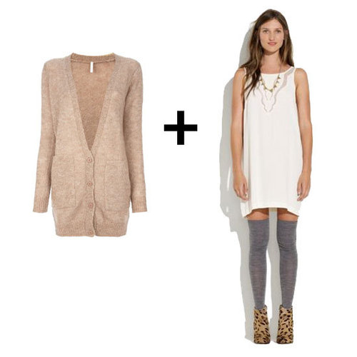 Best Slip Dresses and Sweater Outfits | Fall 2012