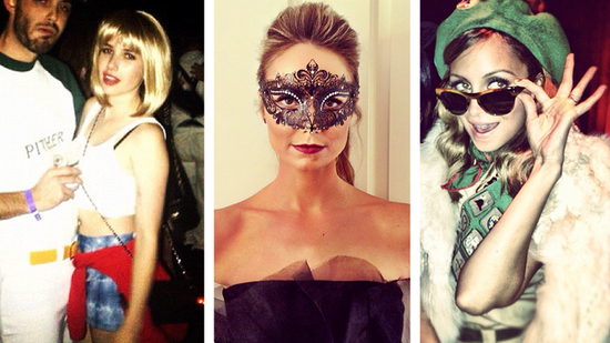 Get Halloween Costume Inspiration From Nicole Richie, Emma Roberts, and More!