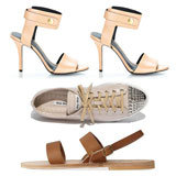 Shop FabSugar's Top 10 Nude Heels, Flats and Sandals