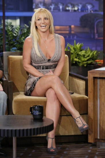 Britney Spears had a laugh on The Tonight Show With Jay Leno.