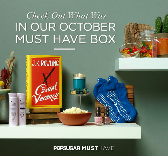 POPSUGAR Must Have October Box Revealed — Check Out What Was Inside!