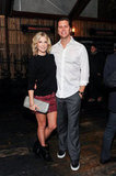 Ali Larter posed with Hayes MacArthur.