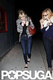Emma Stone Has an Adorably Playful Dinner Date