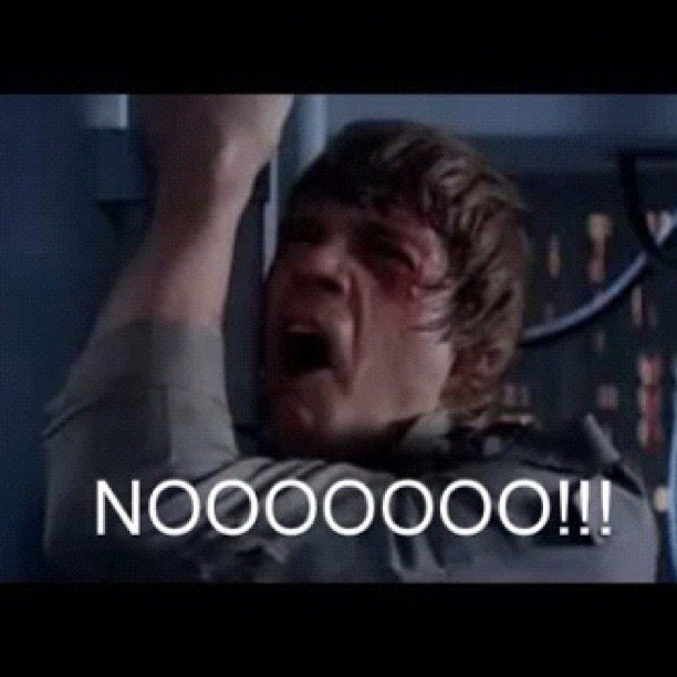 """DISNEY BOUGHT LUCASFILM AND IS MAKING STAR WARS EPISODE 7 #NOOOOOOOOOOOOOO #StarWars #Disney #Lucasfilm #TheHorror"" — danrom520 Source: Instagram user danrom520"