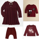 8 Oxblood Finds For Your Trendy Tot