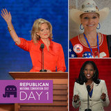 Day 1 on the Scene at the RNC: Ann Romney, Jon Voight, and More Stump For Mitt