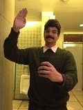 Ned Flanders Glee's Mark Salling went as The Simpsons character Ned Flanders. Source: Twitter user MarkSalling