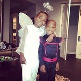 Kevin Hart shared a photo of his little Halloween angels.  Source: Instagram user kevinhart4real
