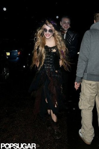 Chloë Grace Moretz was in character for a London bash in 2012.