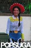 Sandra Bullock dressed as Cowgirl Jessie.