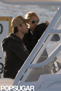 Enrique Iglesias and Anna Kournikova Boating | Pictures