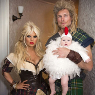 Jessica Simpson and Maxwell Johnson on Halloween | Pictures