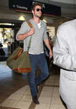 Liam Hemsworth stepped out in sunglasses in LA.