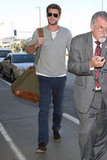 Liam Hemsworth stepped out in LA.